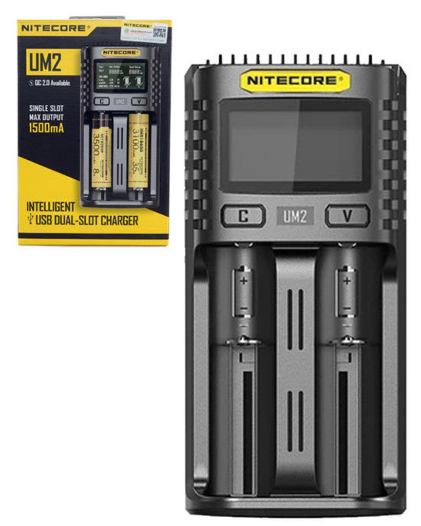 NITECORE UM2 Intelligent USB Two-Slot Charger image 0