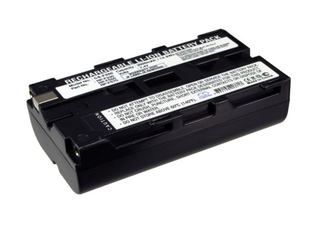 SONY NP-F330, NP-F530, NP-F550 Compatible Battery image 0