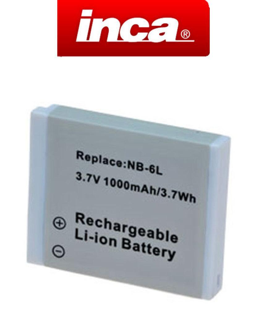 INCA CANON NB6L NB-6L NB-6LH Camera Battery image 0