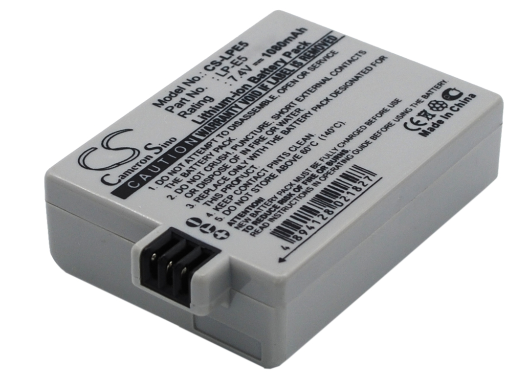 CANON LP-E5 LPE5 Digital Camera Battery image 0