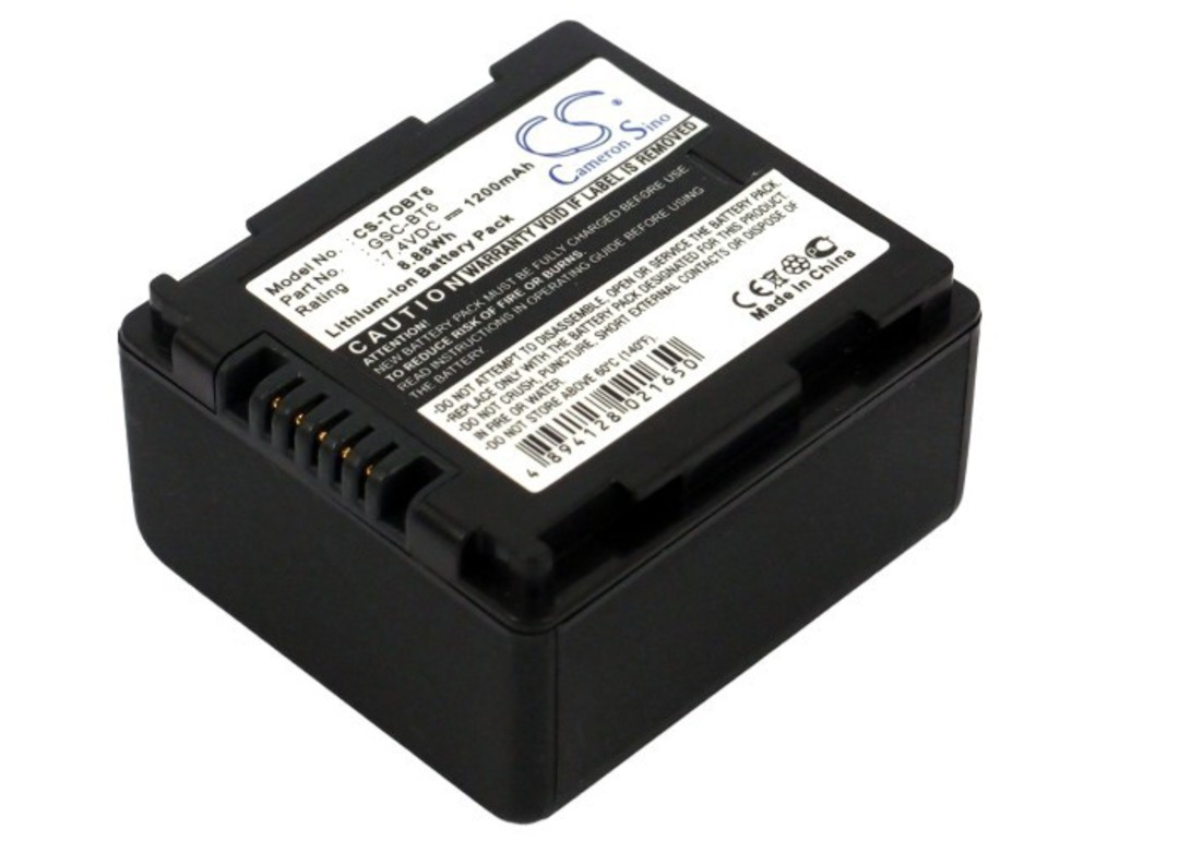 TOSHIBA GSC-BT6 Compatible Battery image 0
