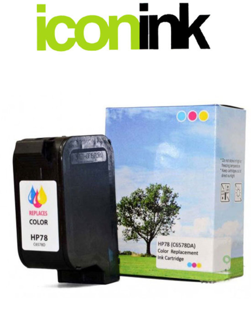 Compatible HP 78 Colour Ink Cartridge (C6578DA) image 0
