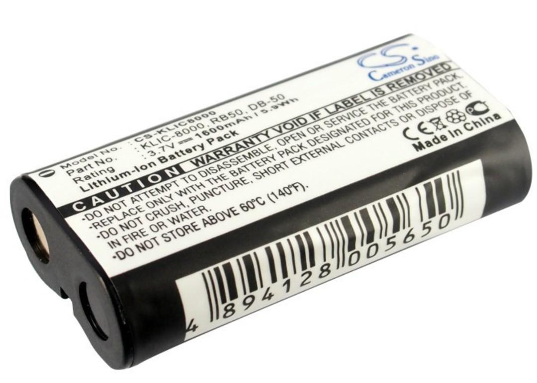 KODAK KLIC-8000 RICOH DB-50 Compatible Battery image 0