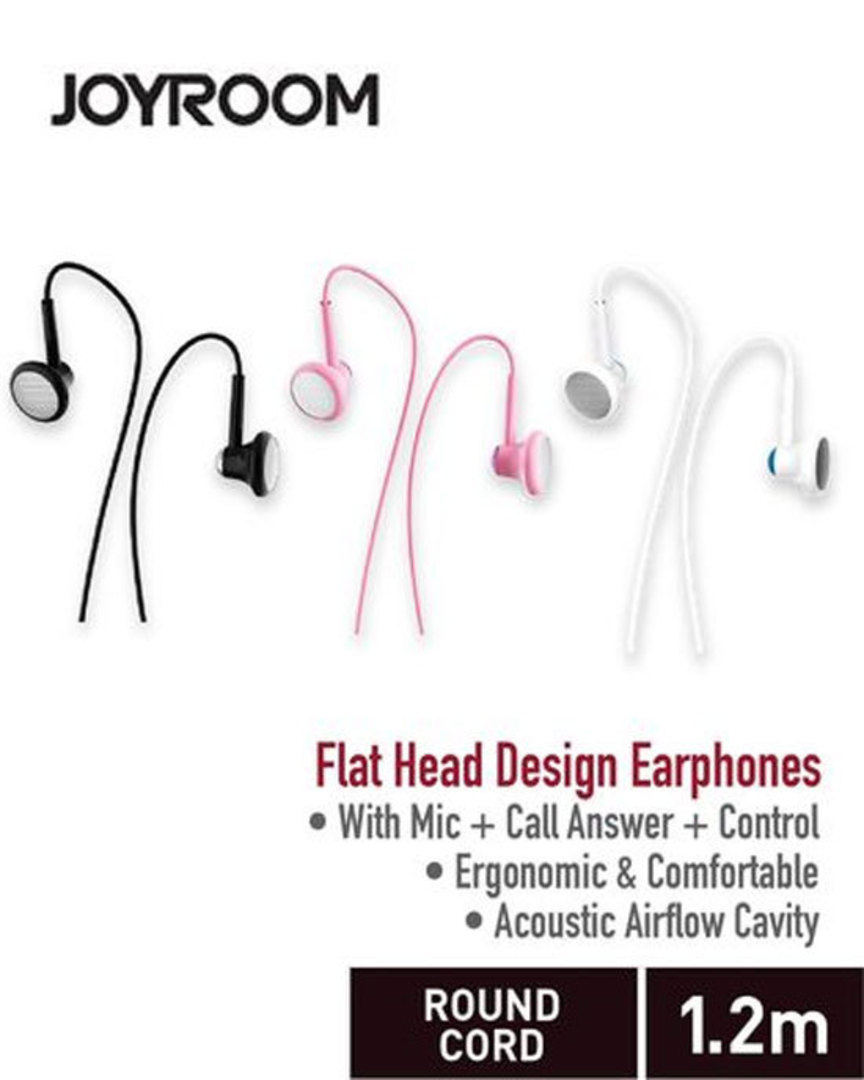 JOYROOM Line Control Earphone with Mic image 0