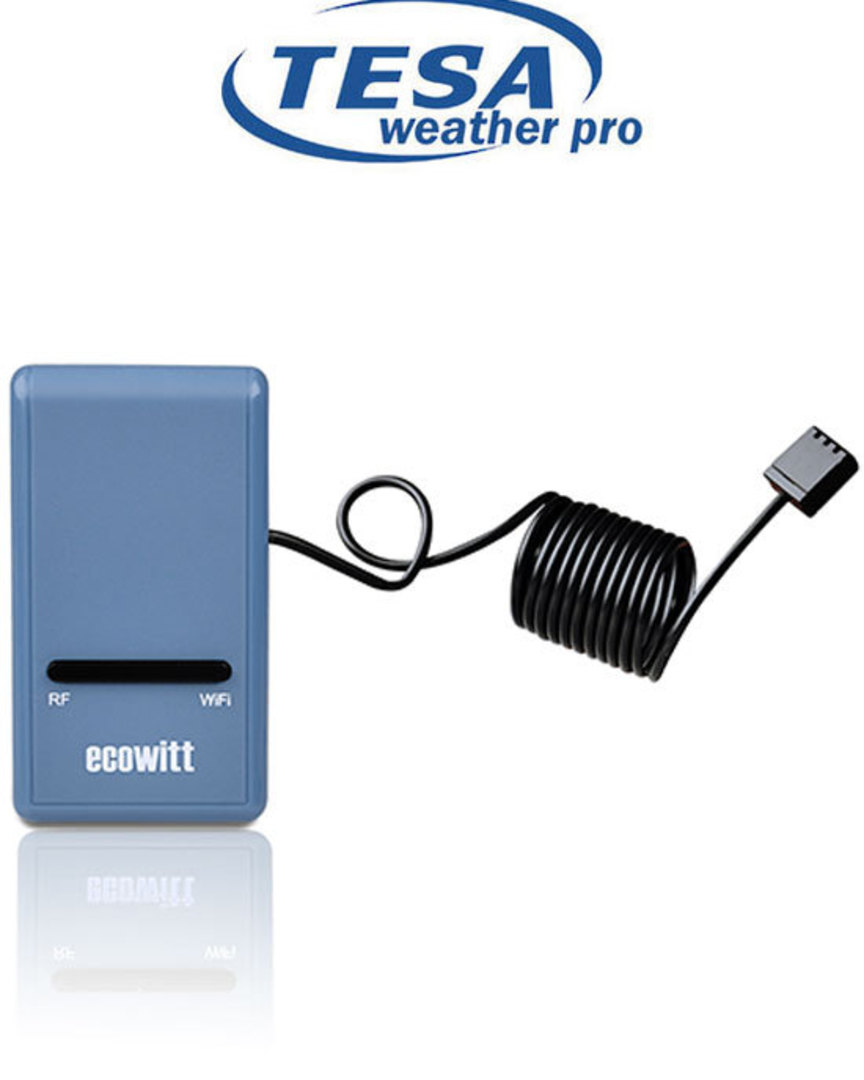 GW1000 Smart Hub WiFi Gateway with temperature humidity and Pressure image 0