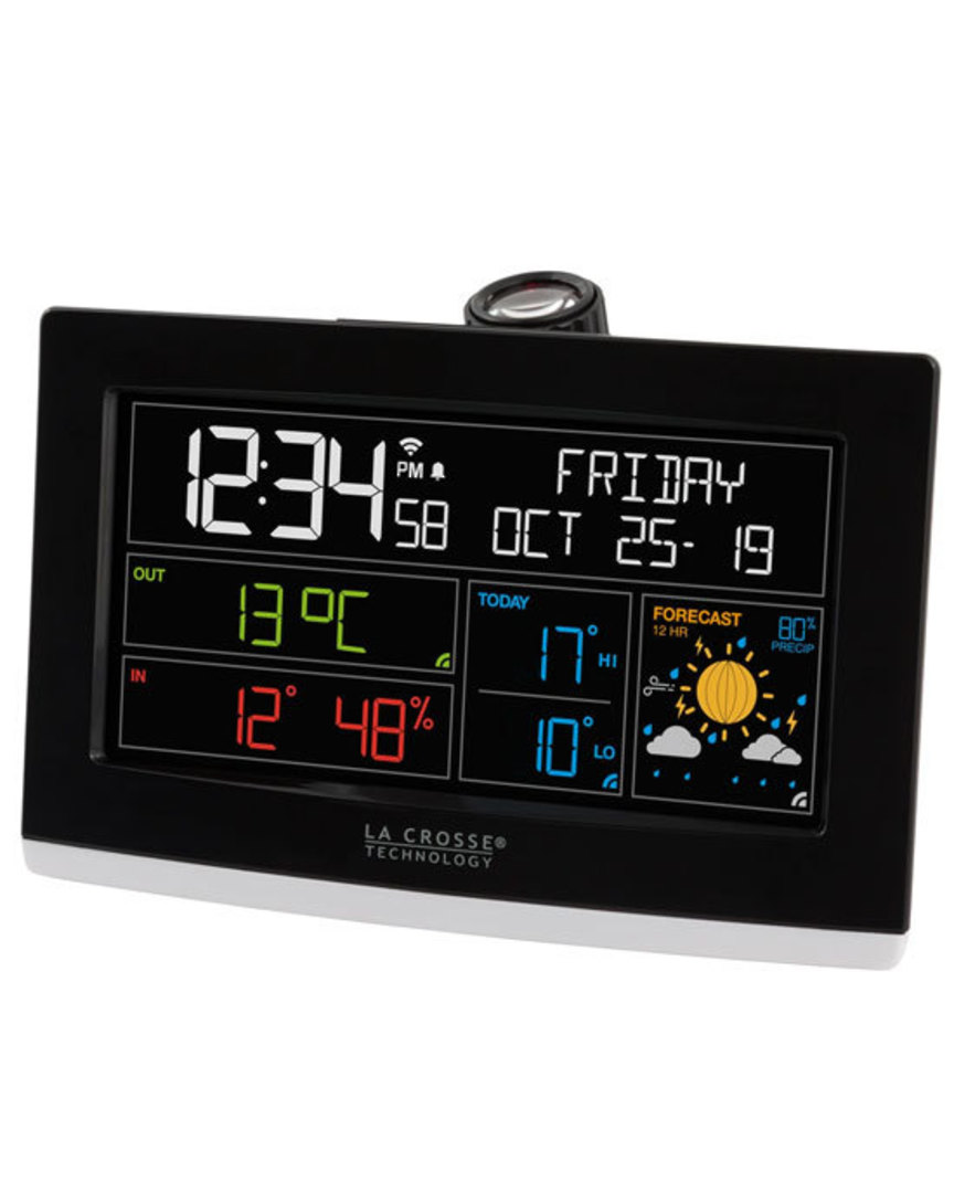 C82929 La Crosse WIFI Projection Alarm Clock image 0