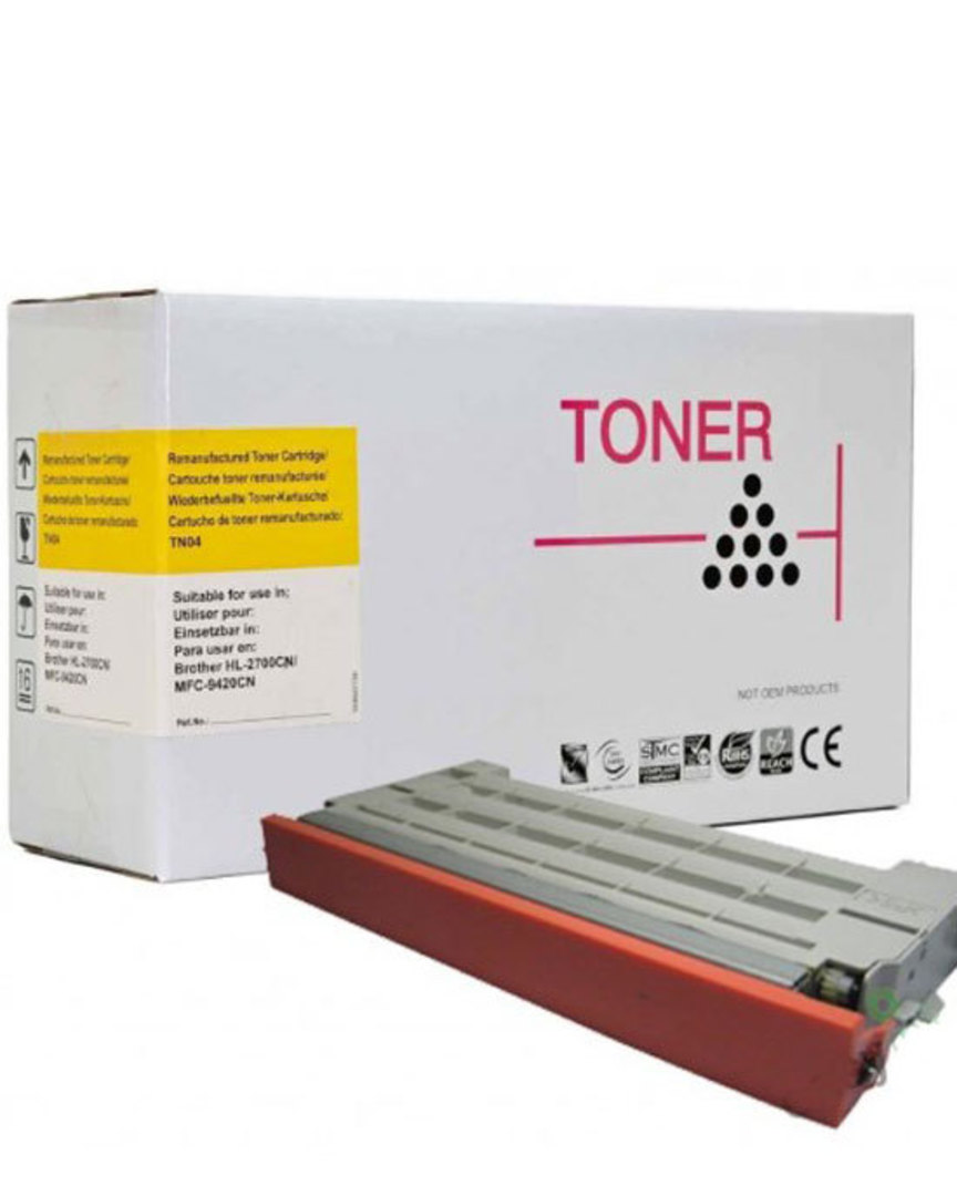 Compatible Brother TN04, Lexmark 20K1402 Yellow Toner image 0