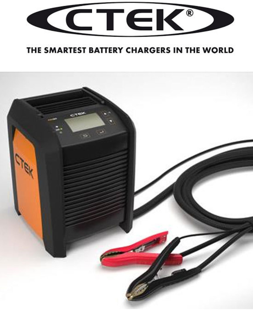 CTEK PRO60 12V 60A Battery Charger and Power Supply image 0