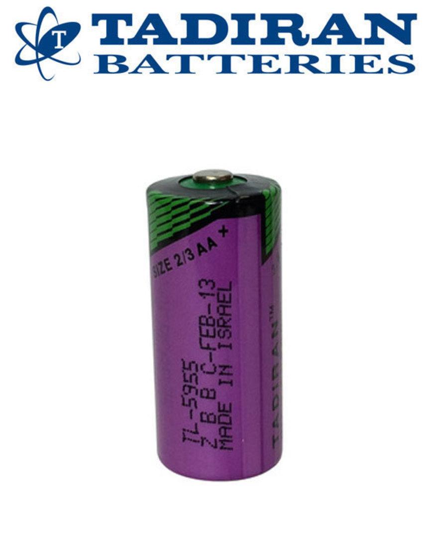Tadiran TL-5955 (S) 2/3AA Lithium Battery image 1