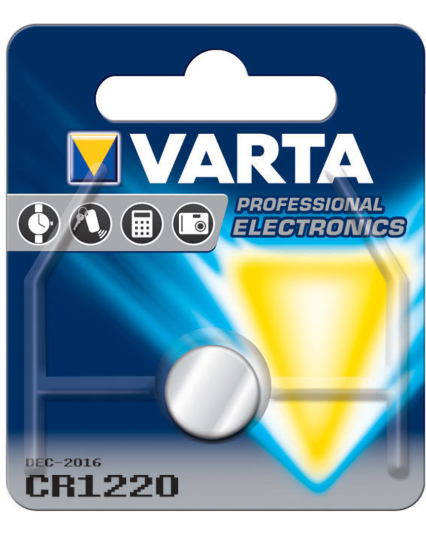VARTA CR1220 Lithium Battery image 0