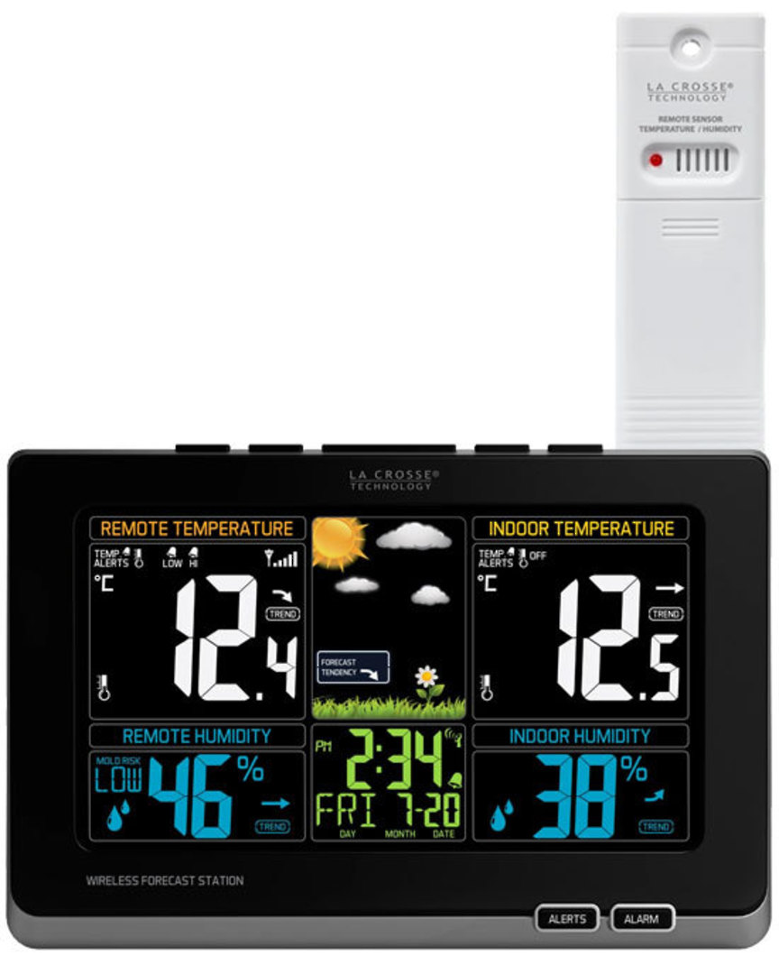 308-1414MB La Crosse Wireless Colour Weather Station with MOLD RISK Feature image 0