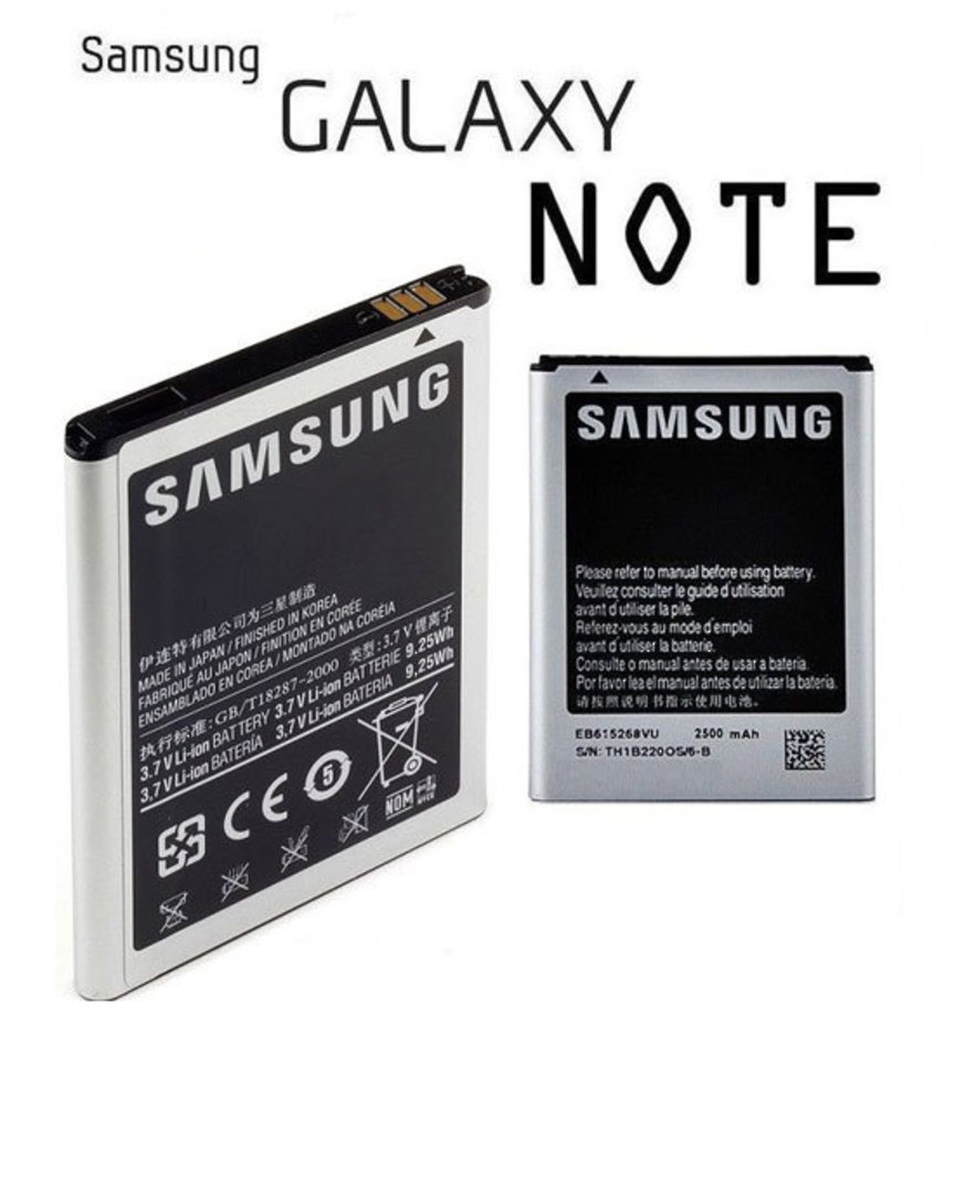 Genuine Samsung Galaxy Note N7000 Battery image 0