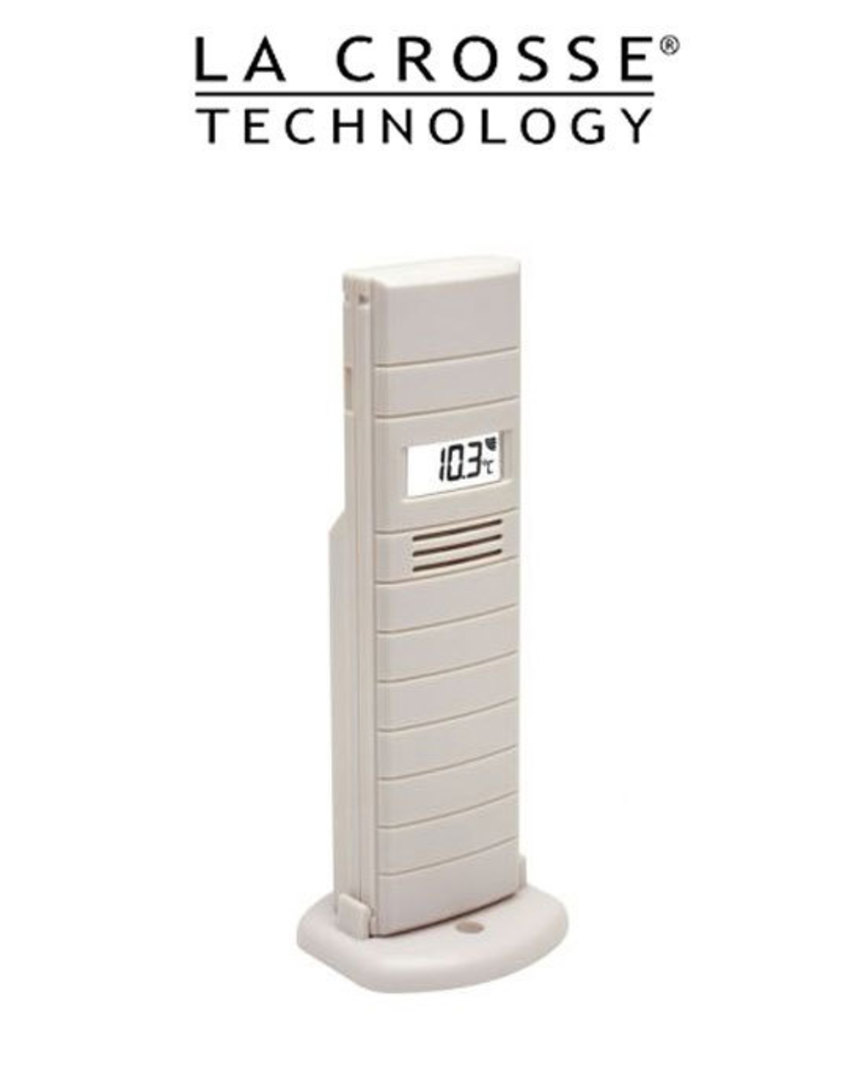TX29D-IT La Crosse Temperature Transmitter with LCD Display image 0