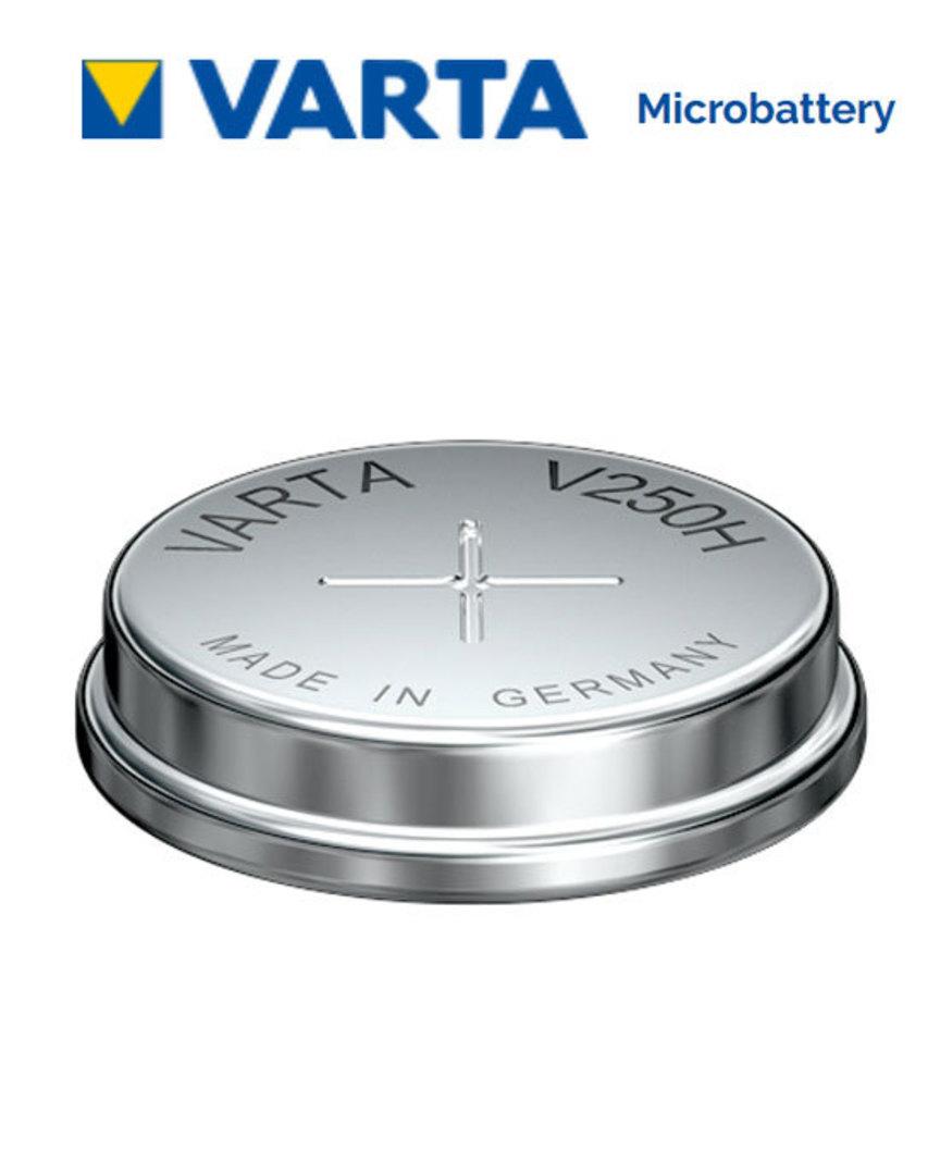 VARTA V250H 1.2V NiMH Rechargeable Button Battery image 0