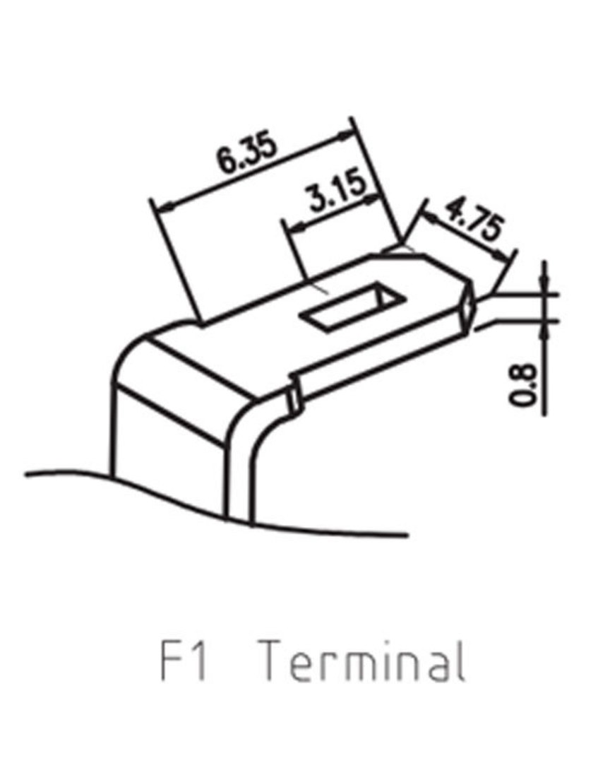 RITAR RT1272 12V 7.2AH SLA Battery 4.33mm Terminal image 1
