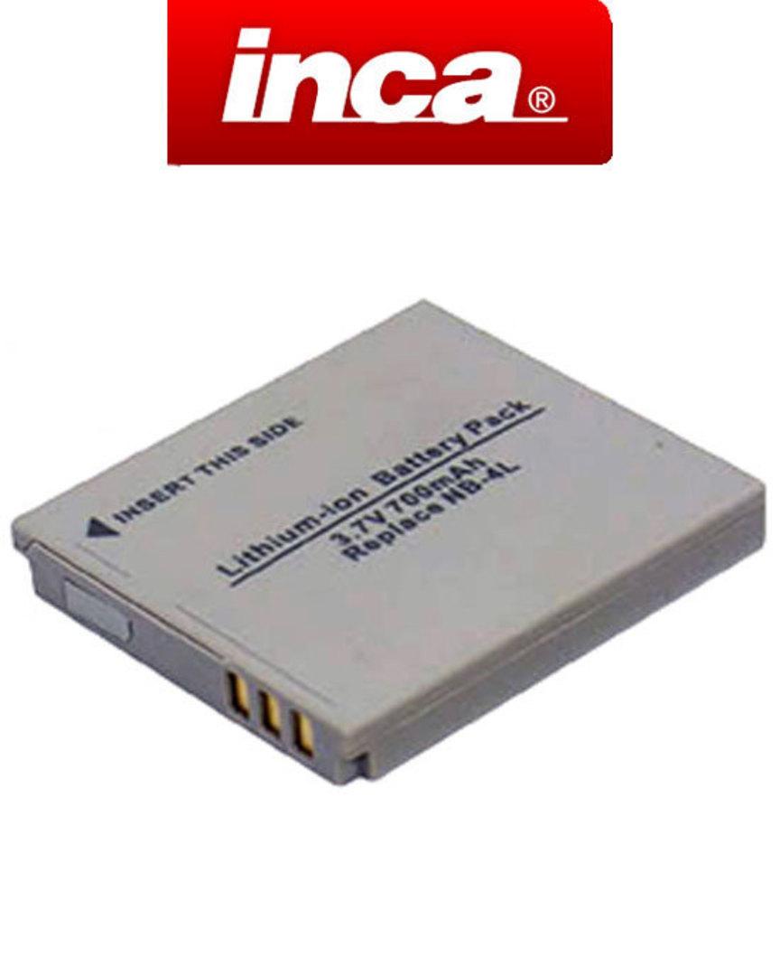 INCA CANON NB4L NB-4L Camera Battery image 0