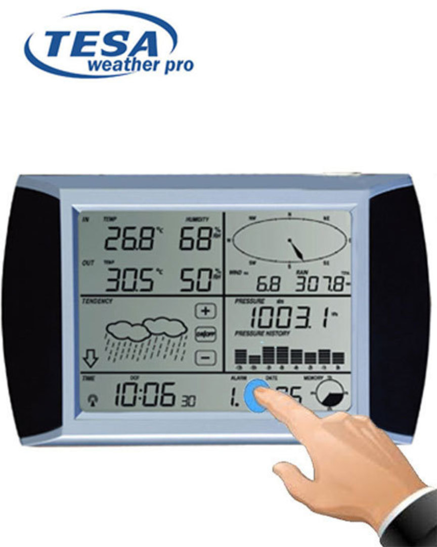 WS1081 TESA Weather Pro Display Console Station image 1
