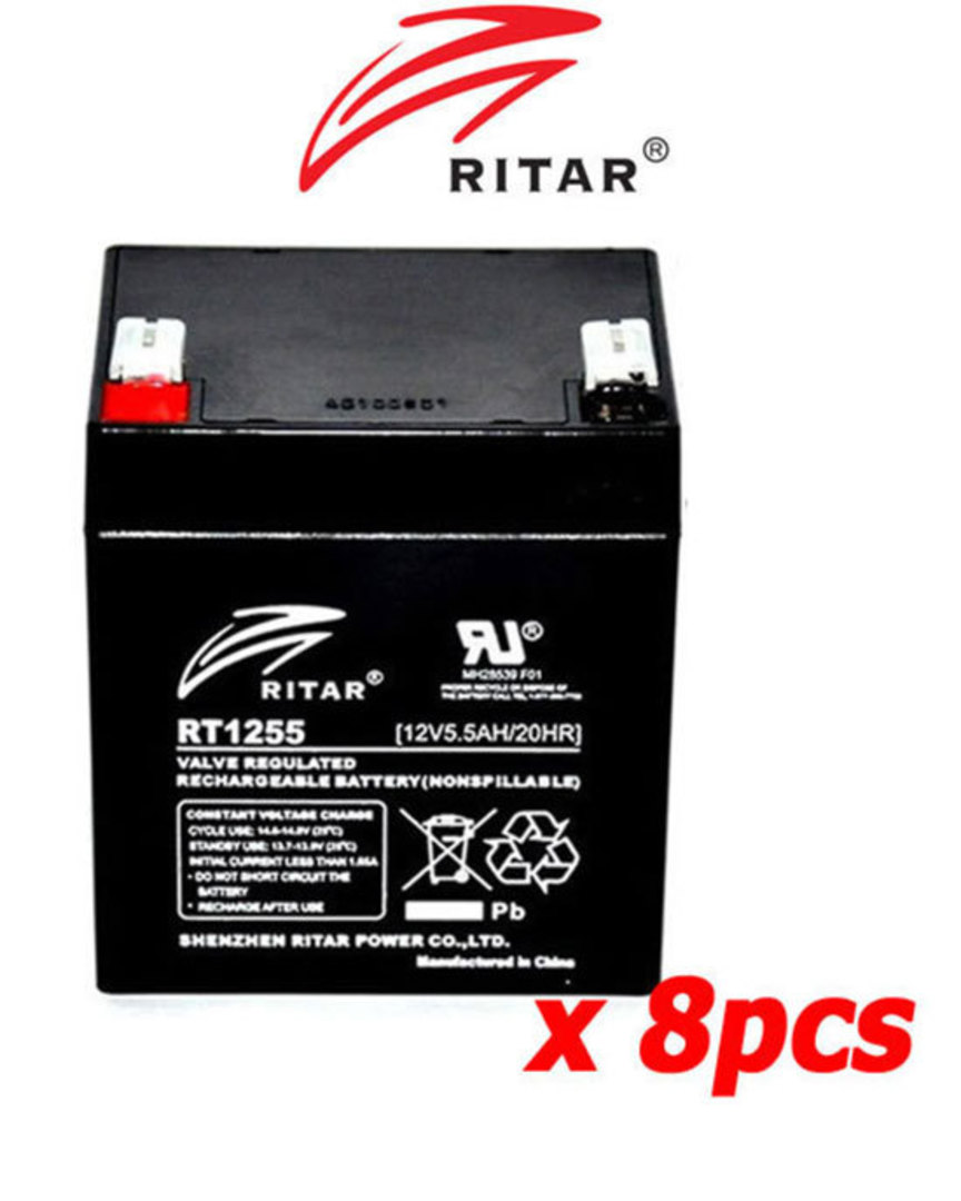 APC RBC43 Replacement Battery Kit #43 image 0