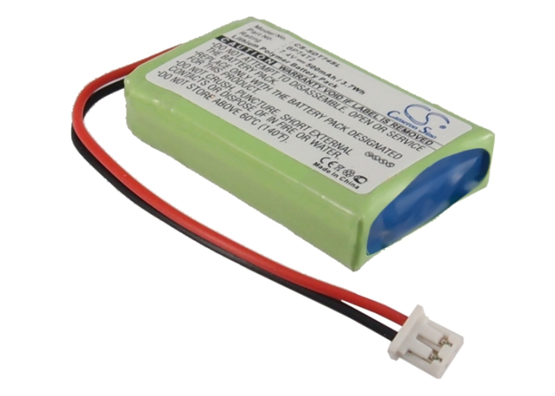 Dogtra 2300NCP 2302NCP BP74T2 Compatible Battery image 0