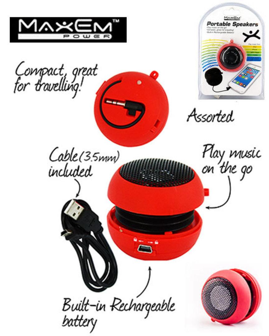 MAXEM Portable Speaker image 0