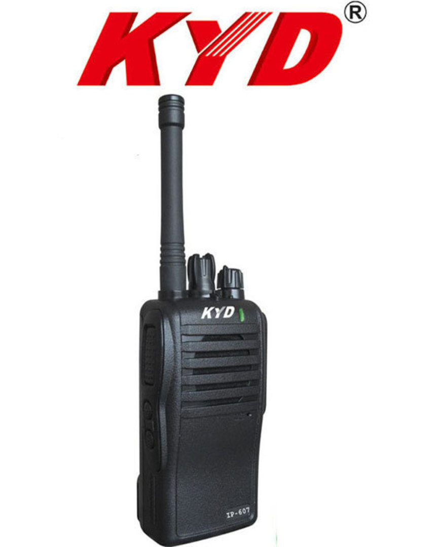 KYD IP607 Water Resistant Two way Radio image 0