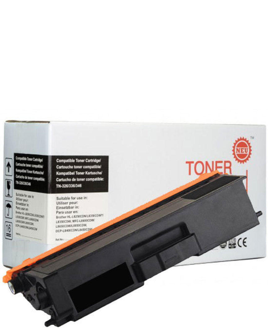 Compatible Brother TN346 Black Toner Cartridge image 0