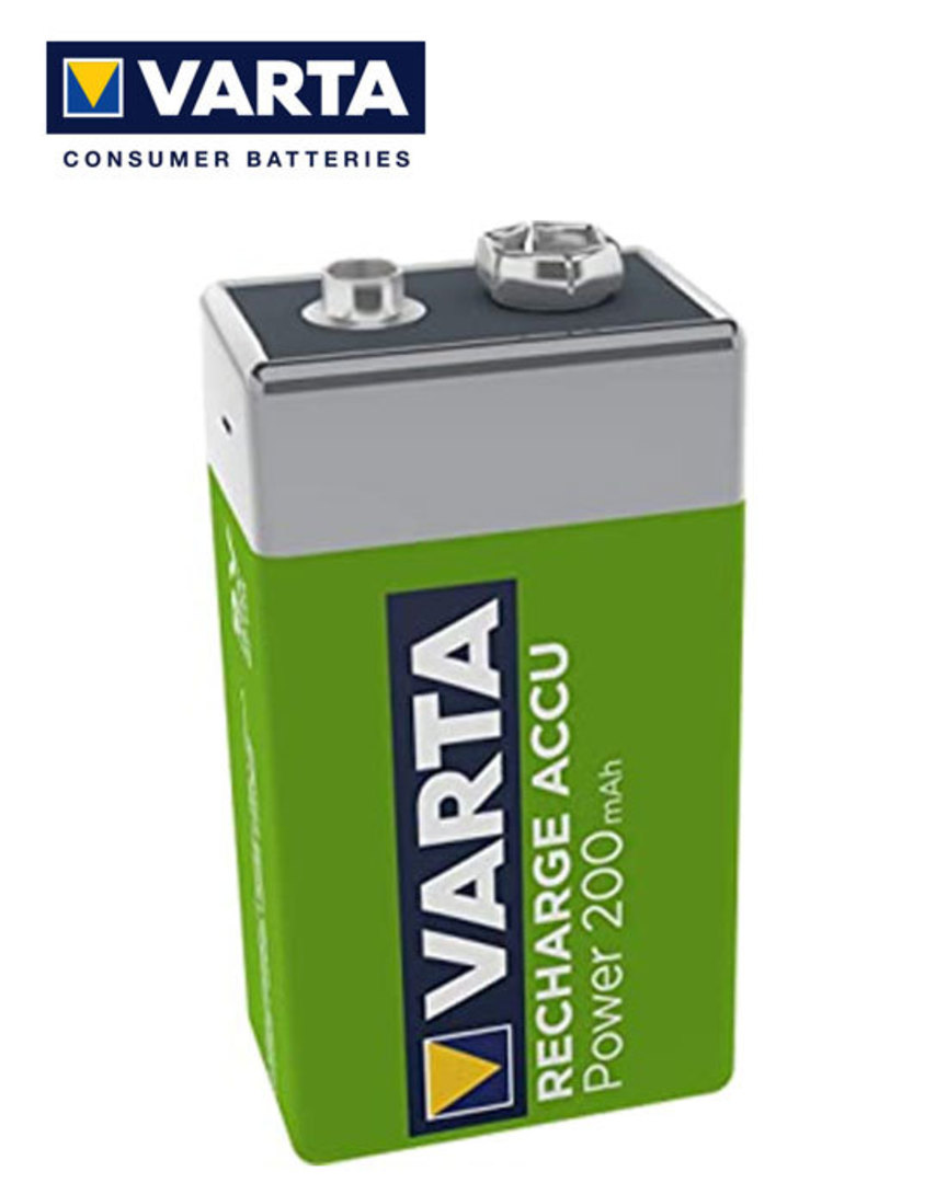 VARTA 9V Pre-Charged NiMH Rechargeable Battery image 2