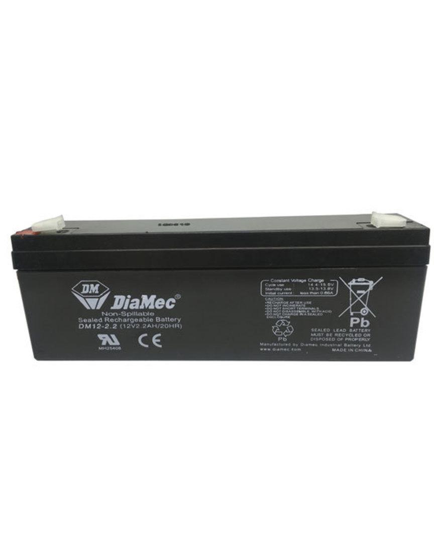 DIAMEC DM12-2.2 12V 2.2AH SLA Battery image 0