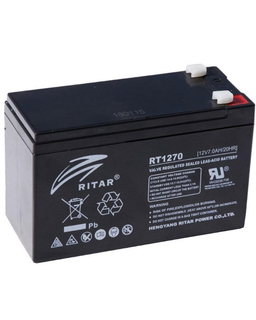 RITAR RT1270 12V 7AH SLA battery image 0