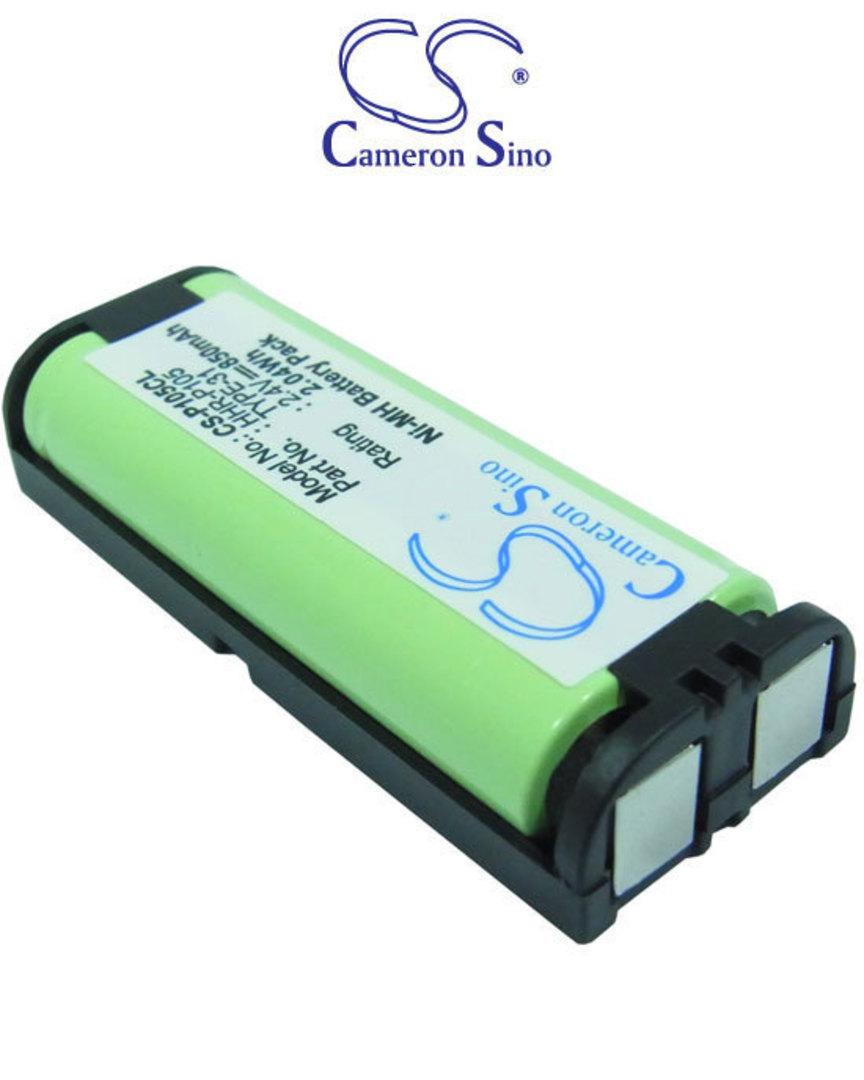PANASONIC HHR-P105 TYPE 31 Cordless Phone Battery image 0