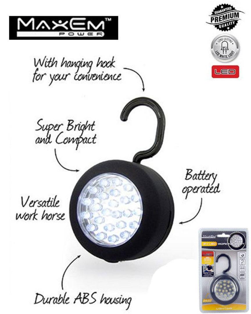 MAXEM 24 LED Magnetic Working Light image 0
