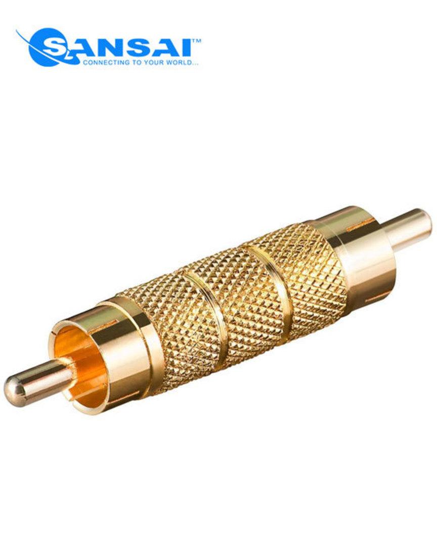 SANSAI RCA Plug To Plug Adaptor image 0