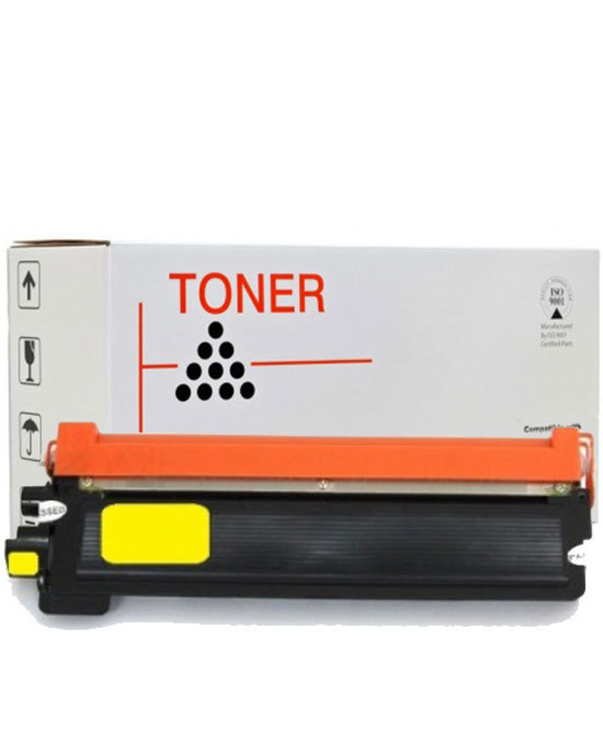 Compatible Brother TN255 Yellow Toner Cartridge image 0