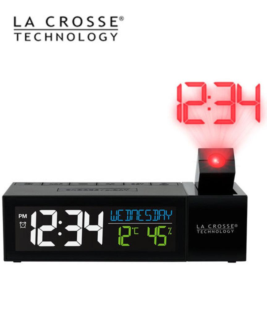 616-1950 Pop-Up Bar Projection Alarm Clock image 1
