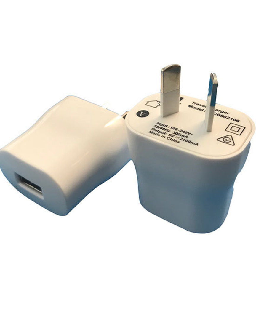 Single USB power adaptor image 0
