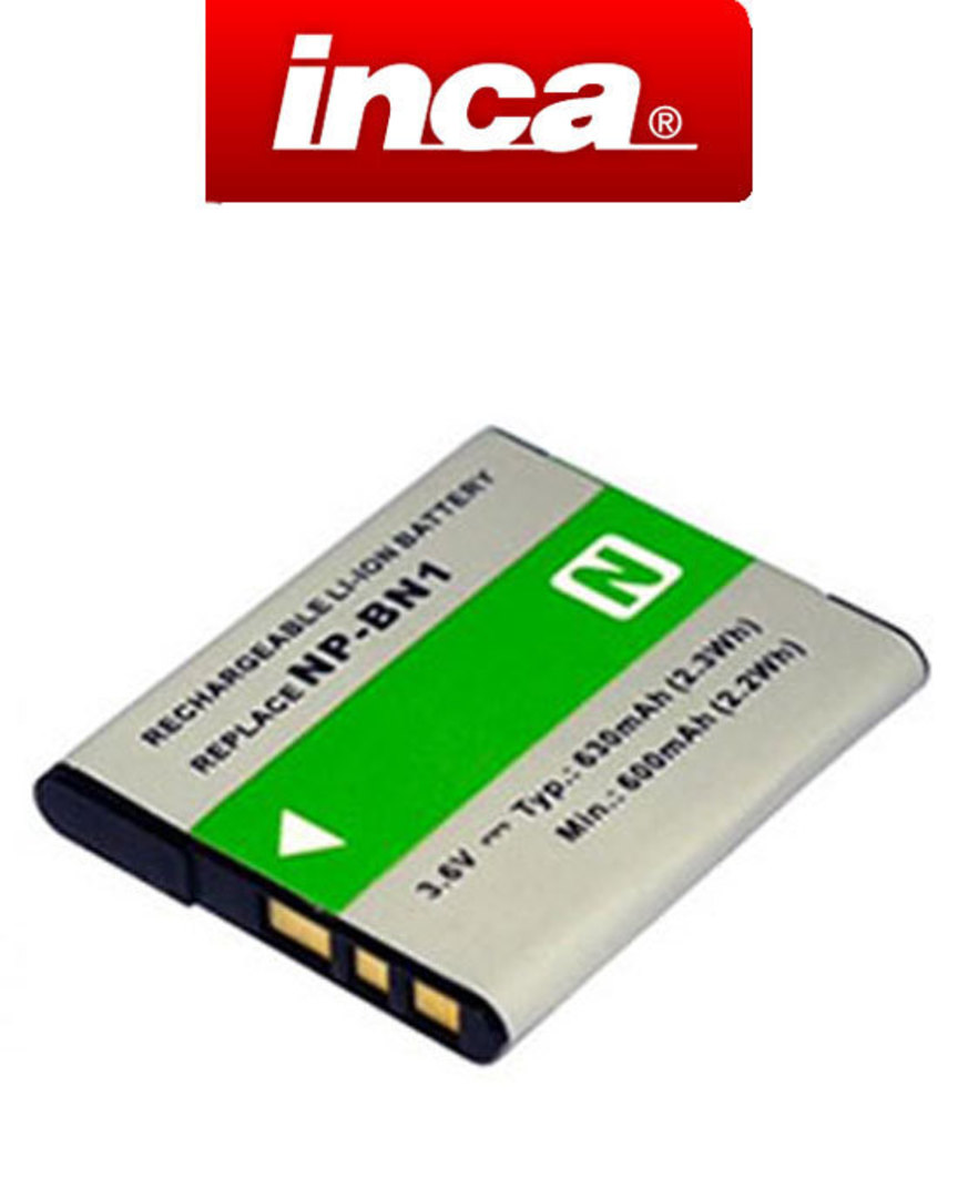 INCA SONY NP-BN, NP-BN1 Type N Compatible Battery image 0