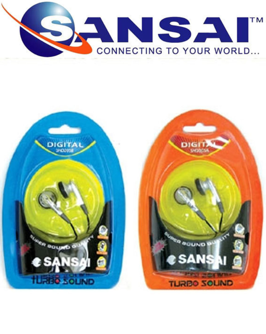 SANSAI Super Bass Stereo Earphone image 1