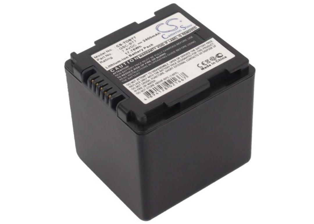 TOSHIBA GSC-BT6, GSC-BT7 Compatible Battery image 0