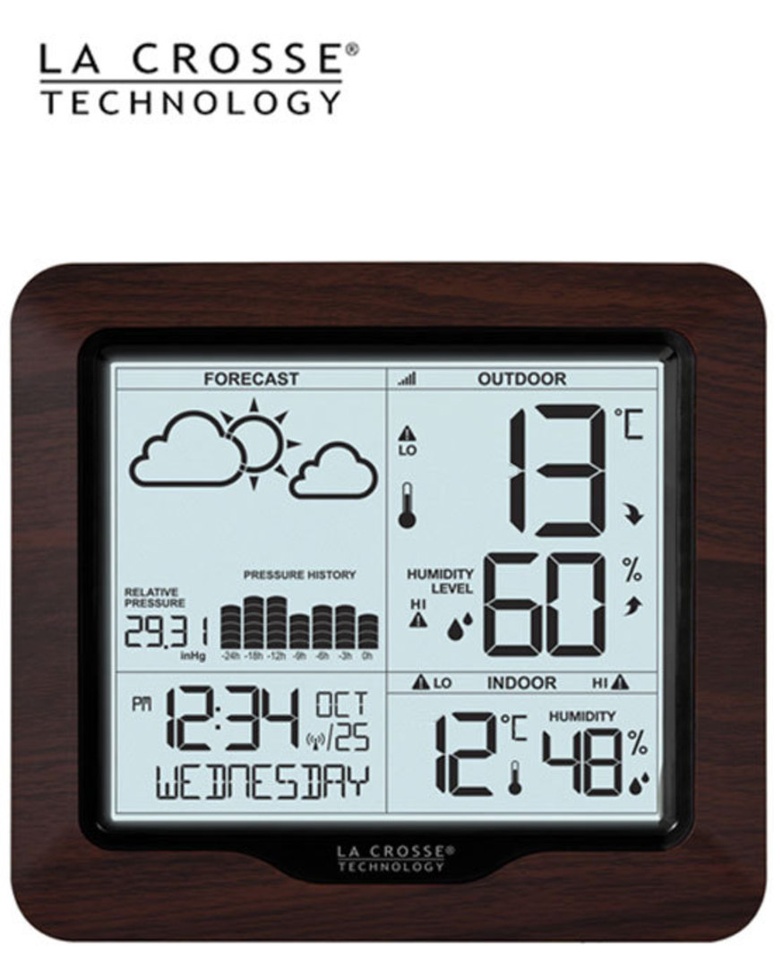 308-1417BL La Crosse Forecast Weather Station with Backlight image 1