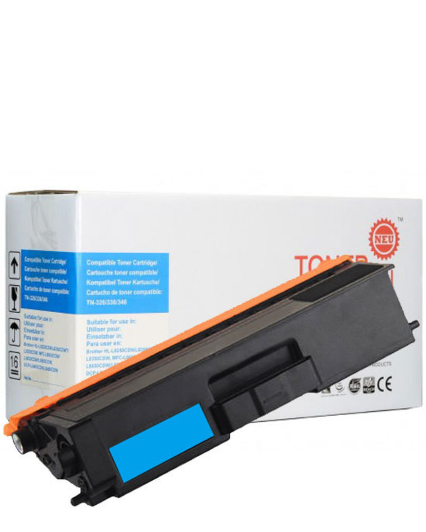 Compatible Brother TN346 Cyan Toner Cartridge image 0