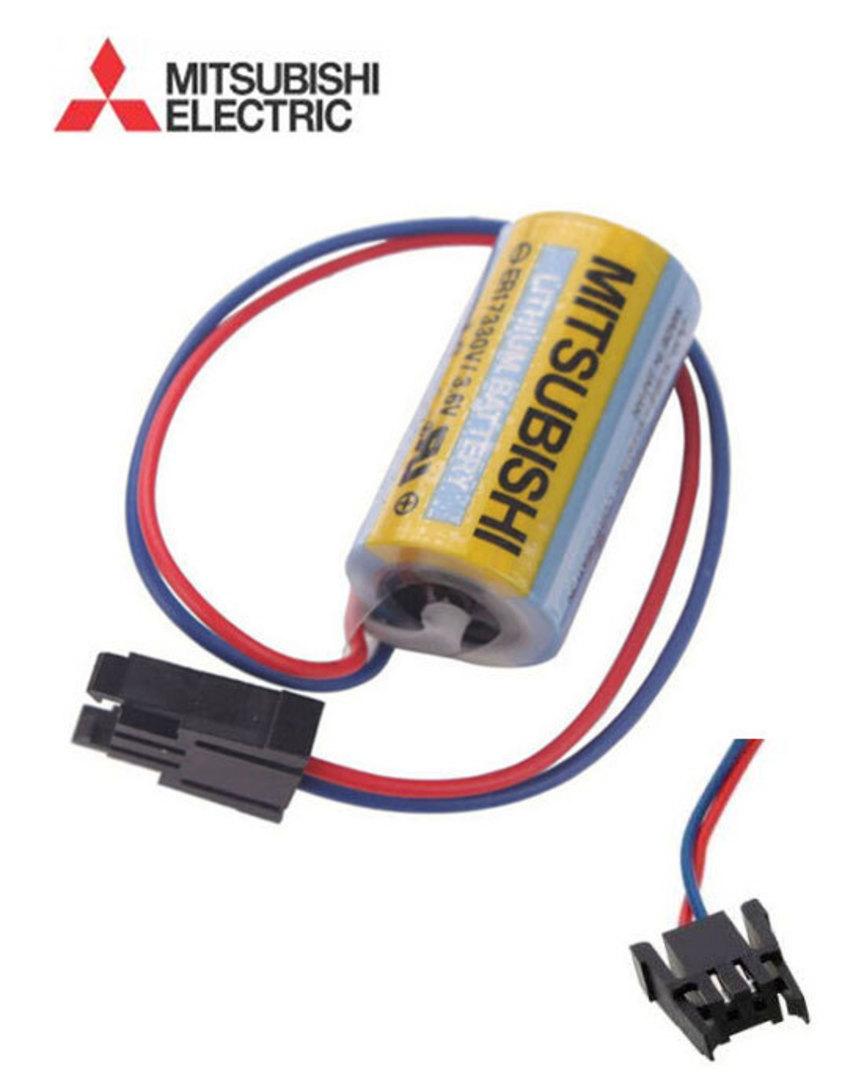 MITSUBISHI A6BAT MRBAT Battery ER17330V image 1