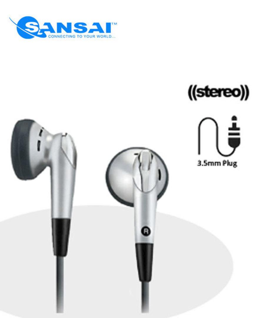SANSAI Super Bass Stereo Earphone image 0