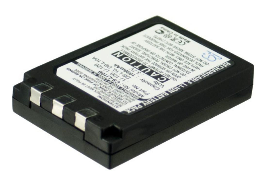 OLYMPUS Li-10B LI10B SANYO DBL10 DB-L10 Compatible Battery image 0