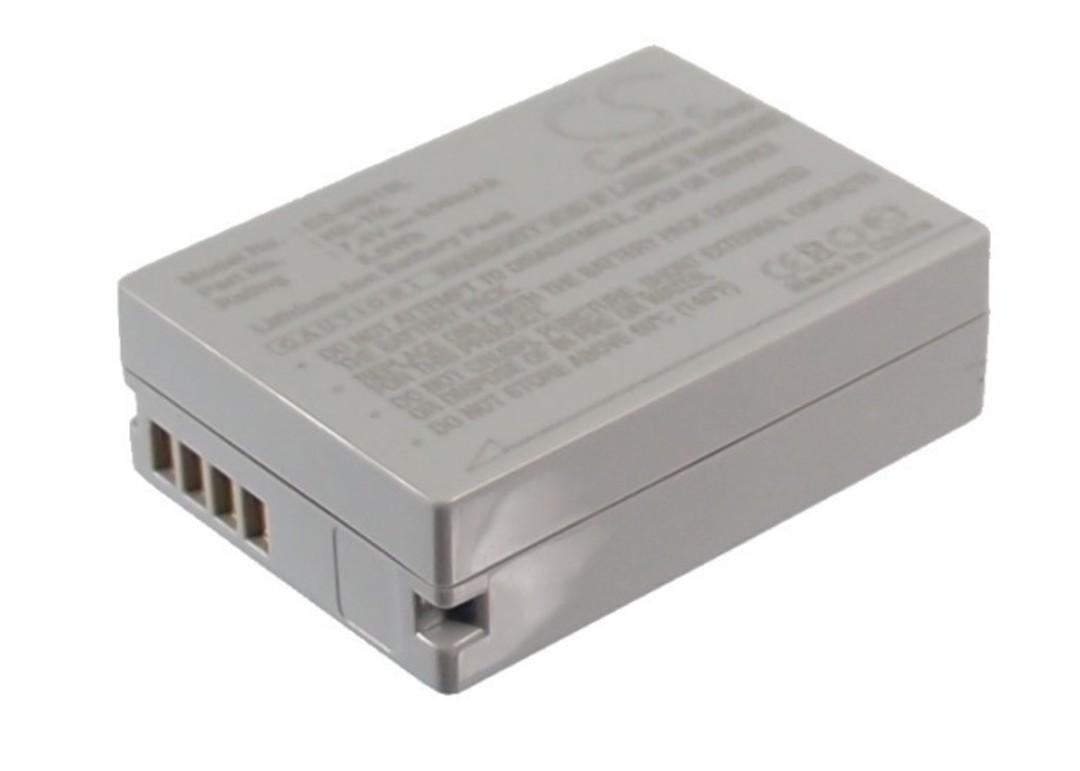 CANON NB10L PowerShot G1 Camera Battery image 0