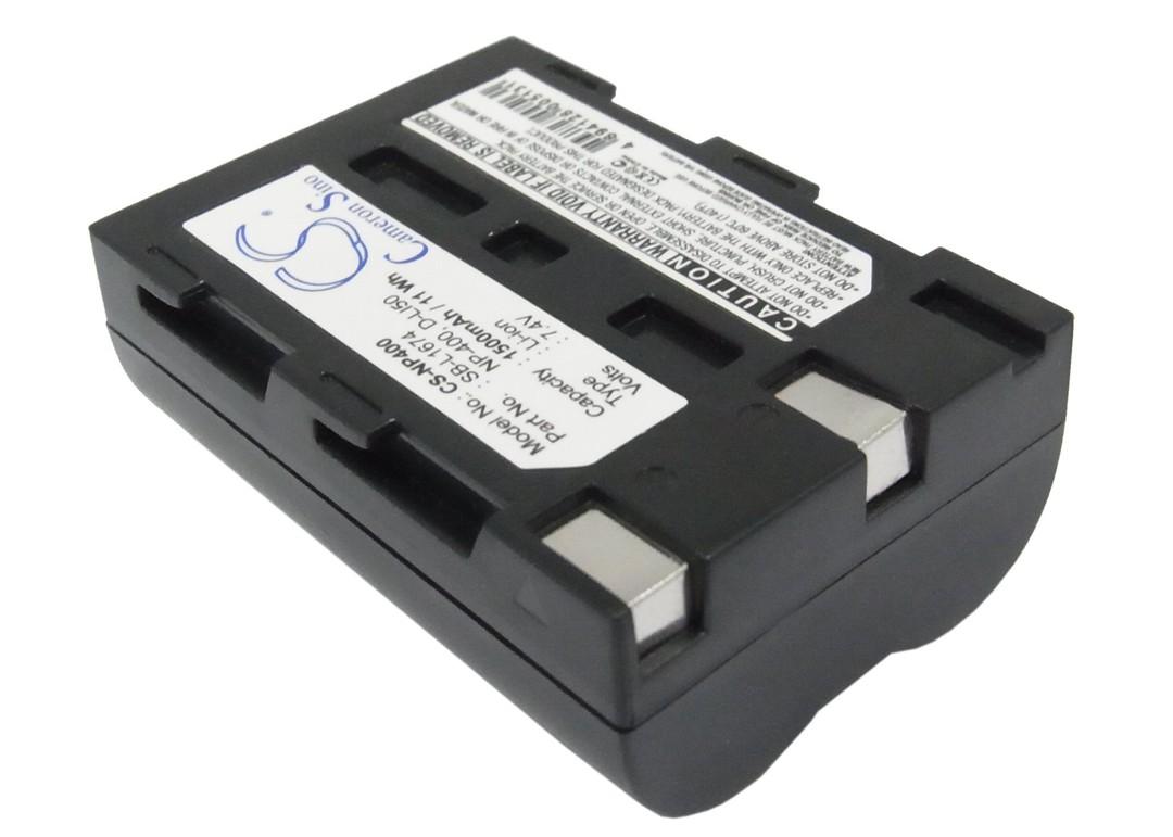 MINOLTA NP-400 PENTAX DLI50 SAMSUNG SBL1674 Compatible Battery image 0