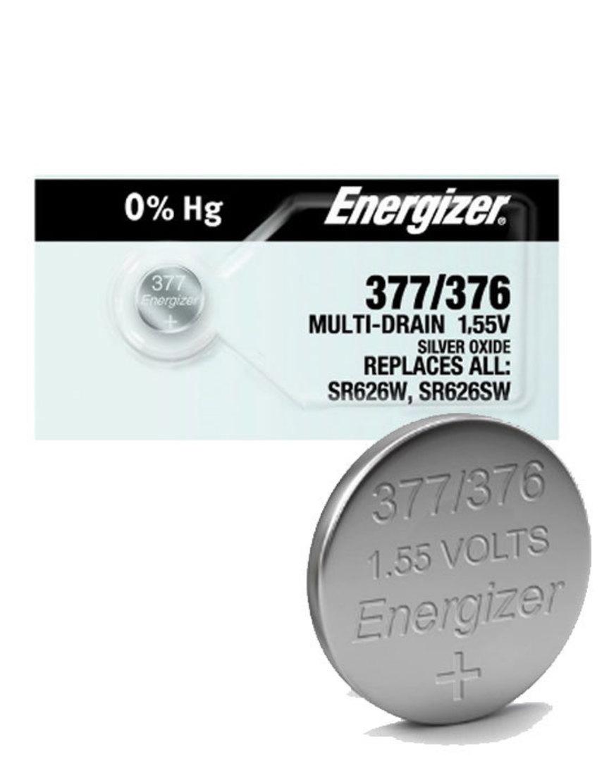 ENERGIZER 376 377 SR66 SR626SW Watch Battery image 0