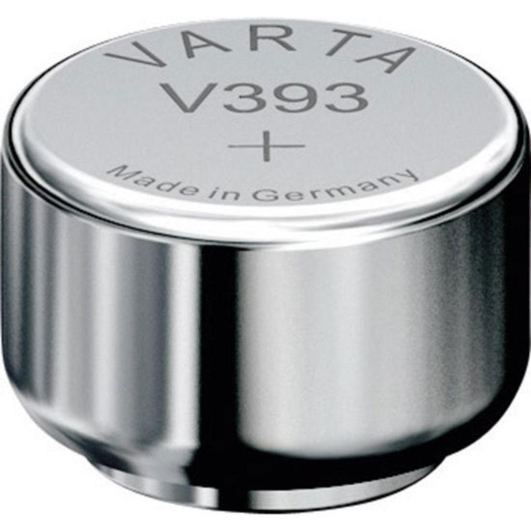 VARTA 309 393 SR48 SR754W Watch Battery image 0