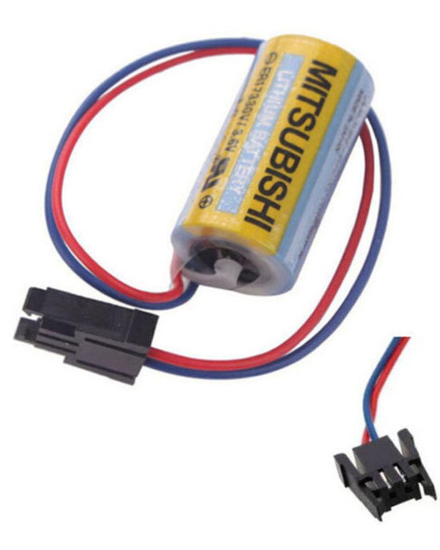 MITSUBISHI A6BAT MRBAT Battery ER17330V image 0