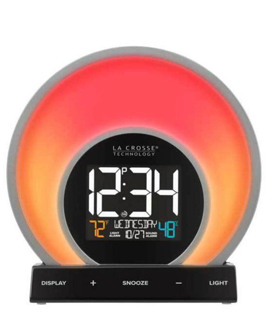 C80994 La Crosse Soluna Light Alarm Clock image 0