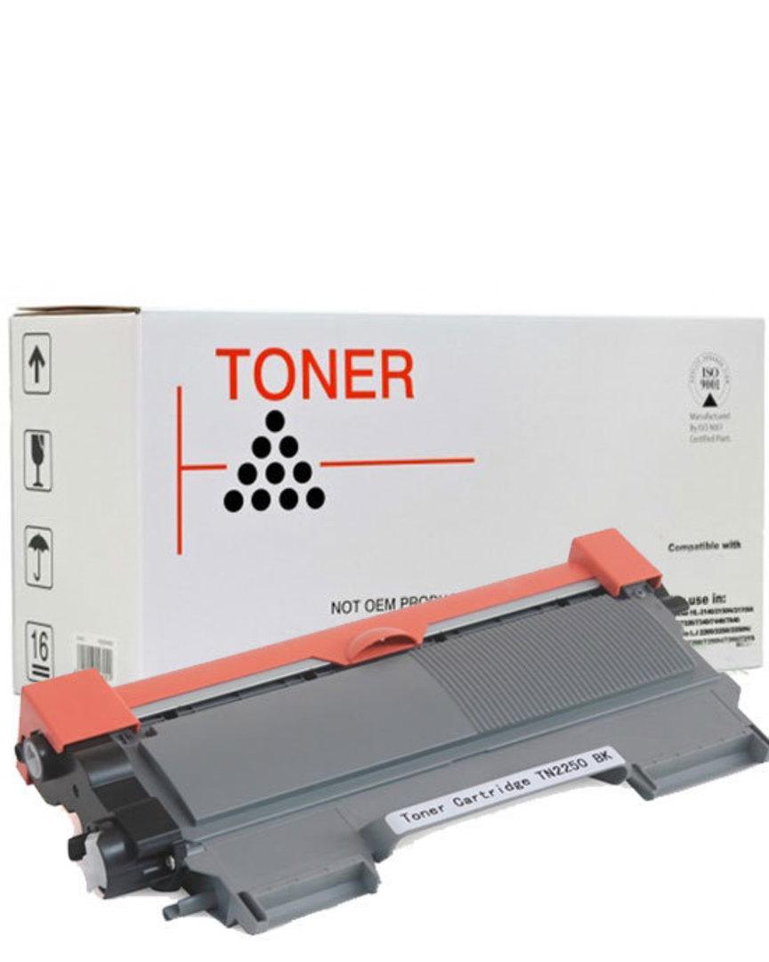 Compatible Brother TN2250 TN2030 Black Toner image 0